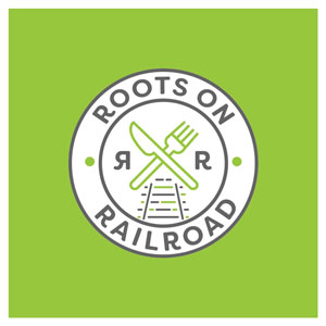 Roots on Railroad restaurant logo